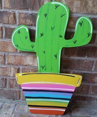 Door Hanger Cactus