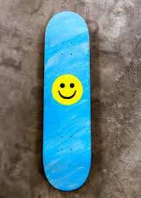 smiley skatebaord